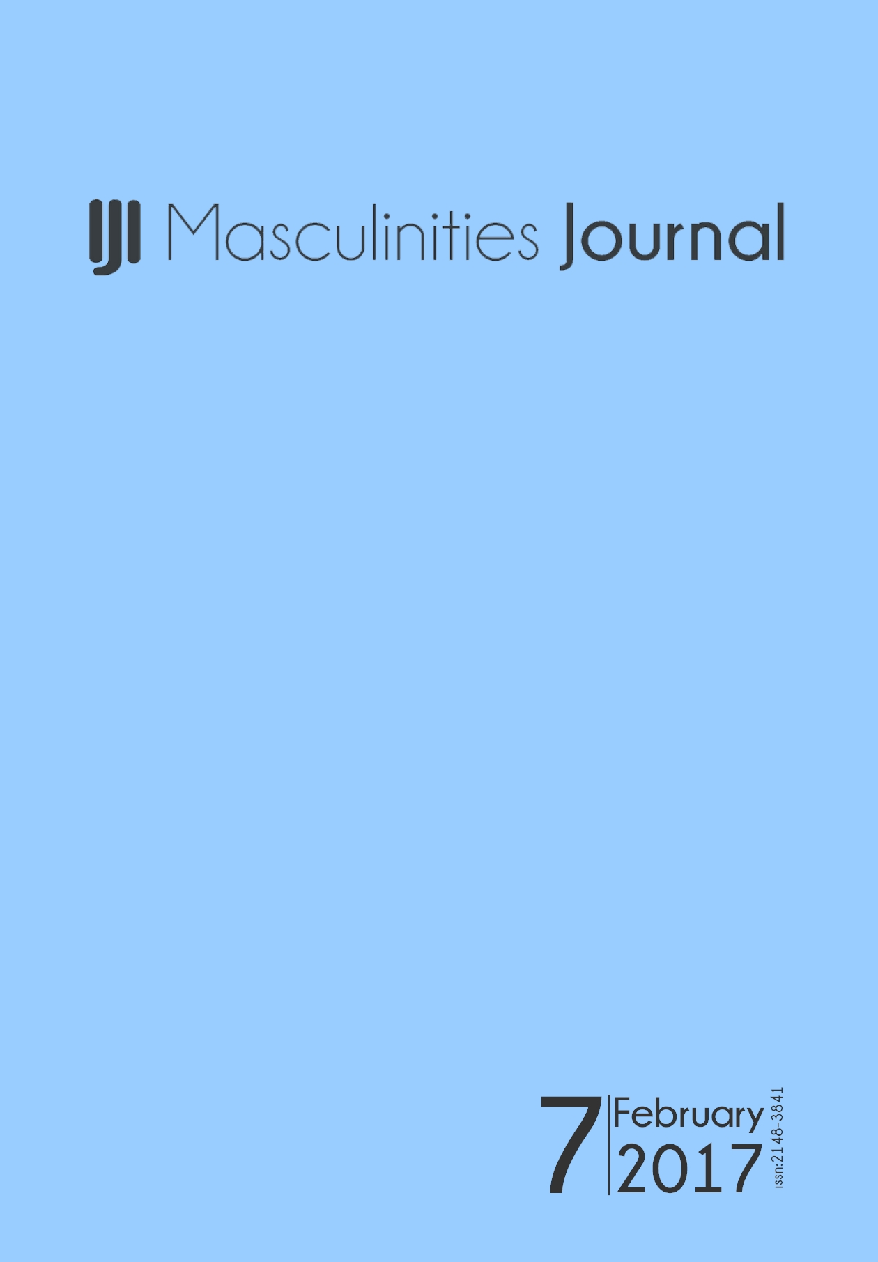 7th Issue of Masculinities: A Journal of Identity and Culture is online now